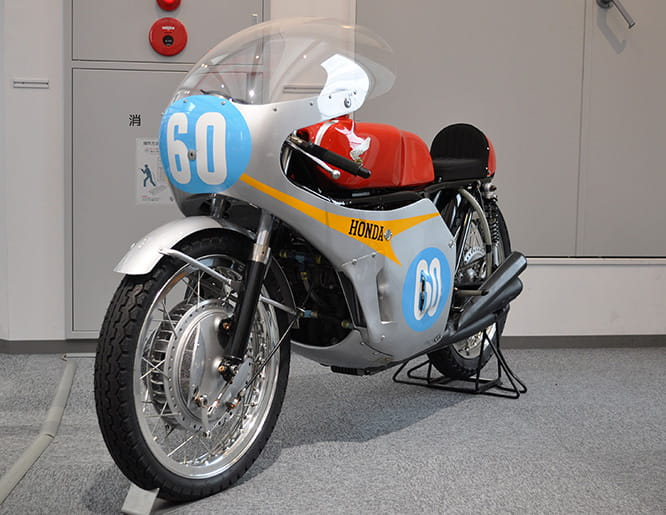 Honda's 297-6 won 7 of 8 races with Mike Hailwood riding in '67