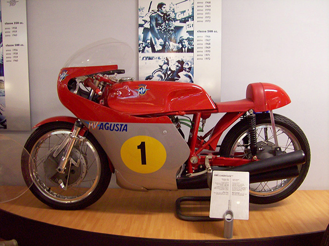 MV won every 500cc title during the '60s