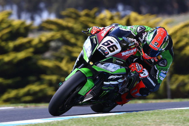 Sykes will start from pole position in Phillip Island