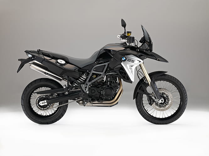 BMW's F800 GS, updated for 2016