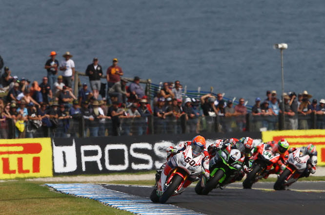 ITV will show World Superbike highlights