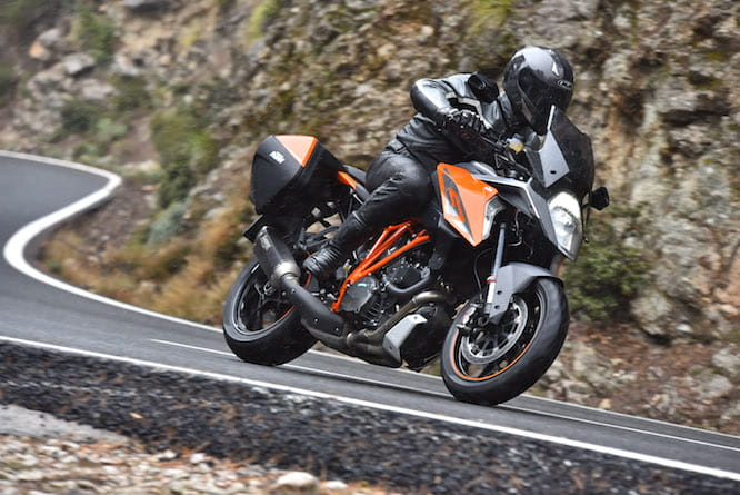 Our man on the Super Duke GT in Mallorca