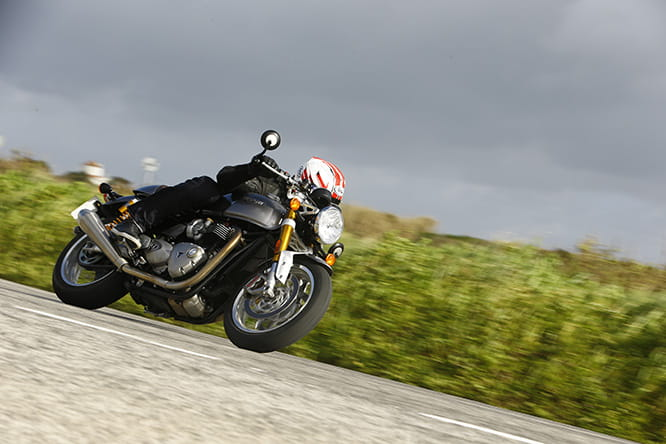 Thruxton R provides a cracking ride when encouraged