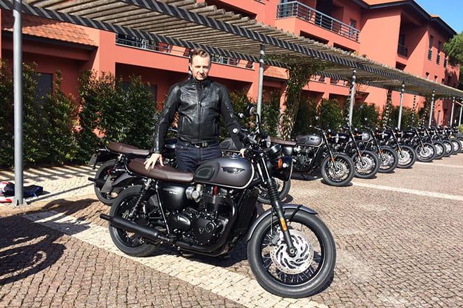 First Riding Impressions Triumph Bonneville T120 Black 2016