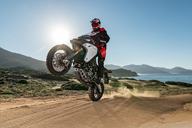 The new 2016 Ducati Multistrada 1200 Enduro makes even a standard Multistrada 1200 look a bit weedy. We rode it at the world press launch in Sardinia. Here's our full test and review.