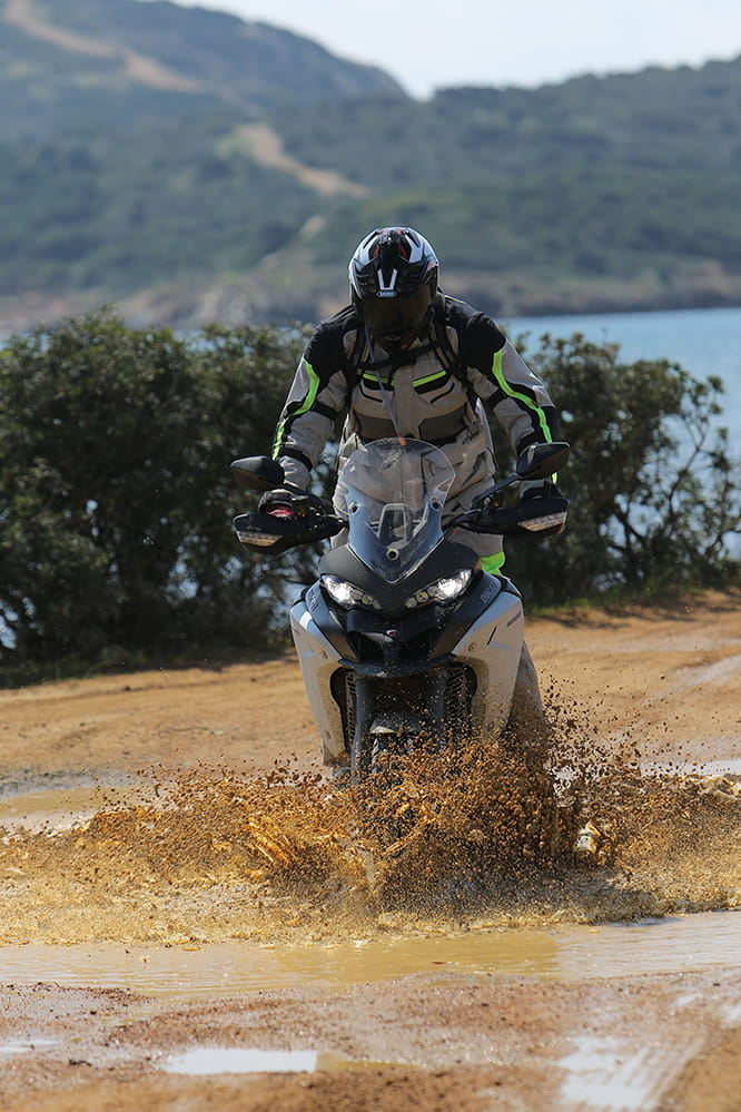 What the Multistrada Enduro does best