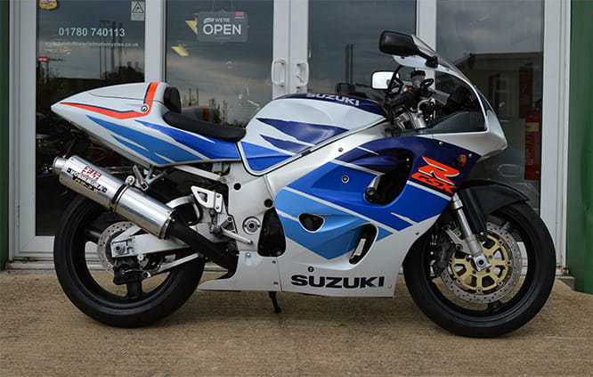 The Bad: Suzuki GSX-R750 SRAD