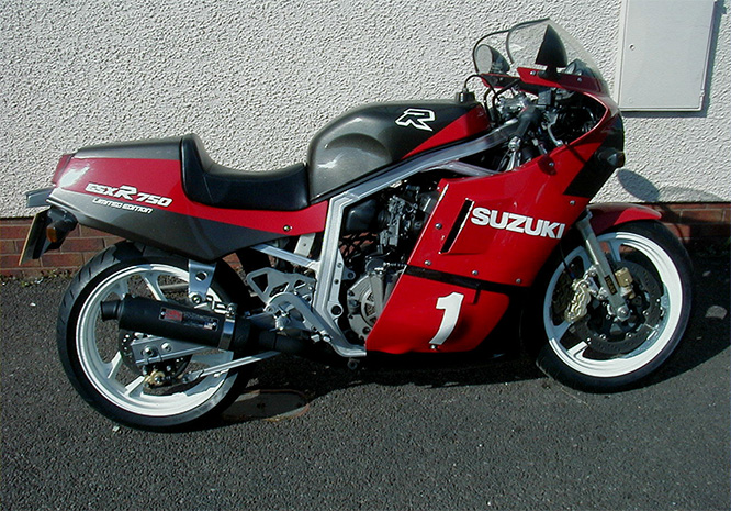 The Ugly: GSX-R 750 Slabside Limited