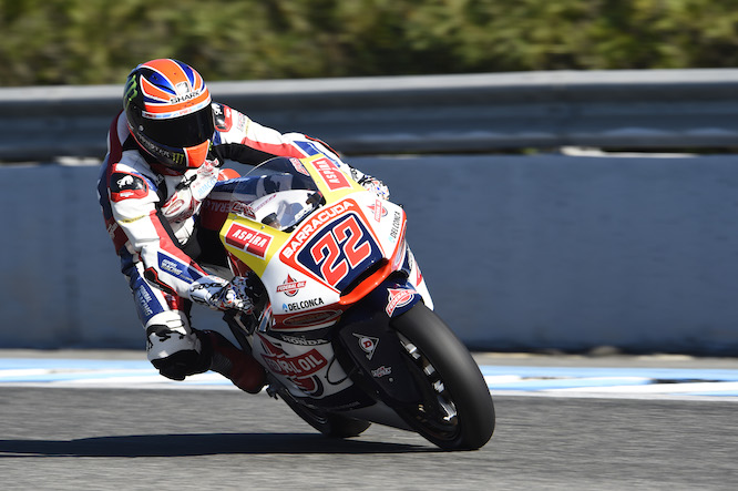 Lowes was second fastest in Jerez