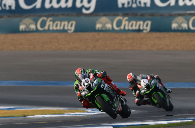 Sykes won race two