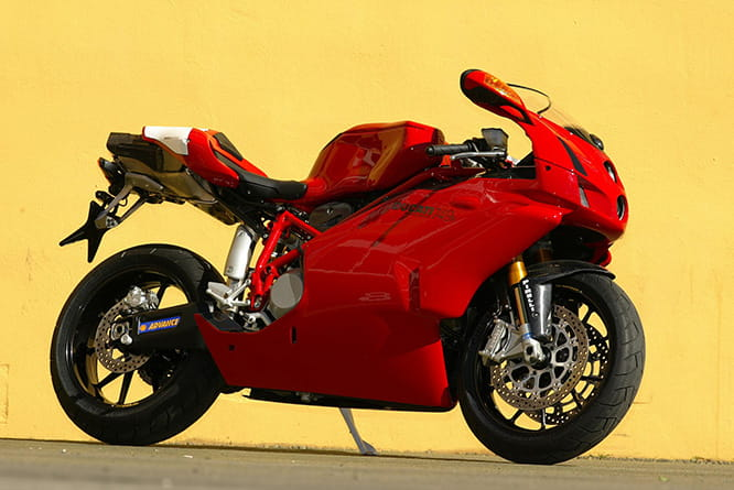 Released in 2004, the 749R was Ducati's entry into the 'budget' World Supersport series