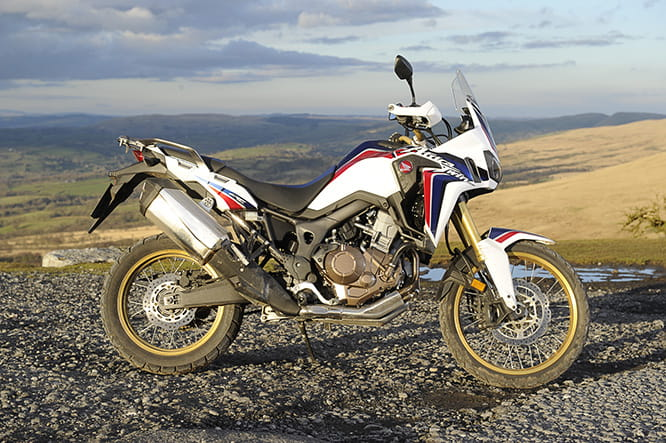 Honda's CRF1000L Africa Twin - available in three colours