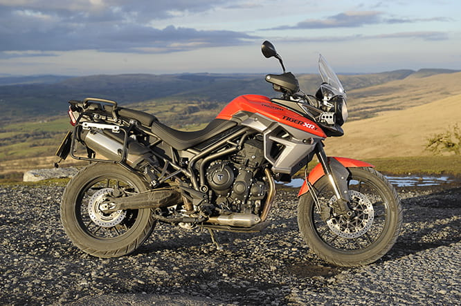 Triumph Tiger 800 XRt - one of 6 versions of the Tiger 800
