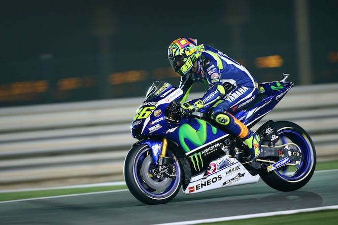 Rossi was second fastest on Day 1