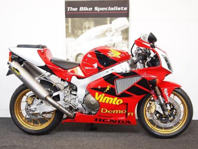 Joey Dunlop replica Honda SP1 - unregistered