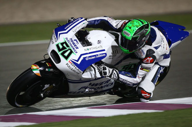 Laverty made a step forward in qualifying