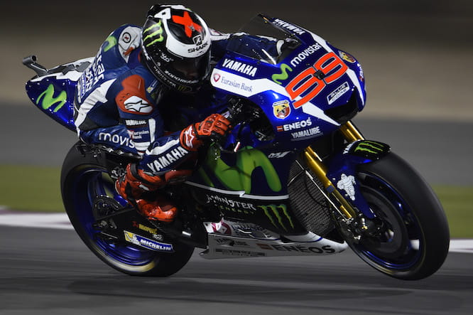 Jorge Lorenzo wins in Qatar