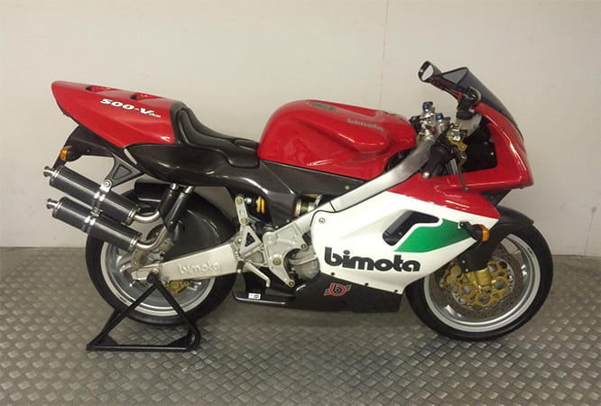 An emerging classic? Bimota's V-Due 500 from 1997
