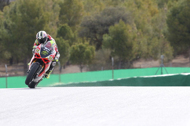 Byrne says the Panigale feels 'turbo-charged' at the minute