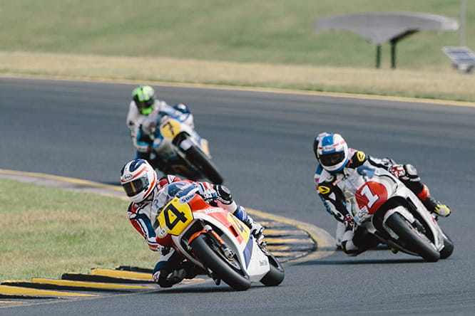 Spencer leads Schwantz and Vermeulen