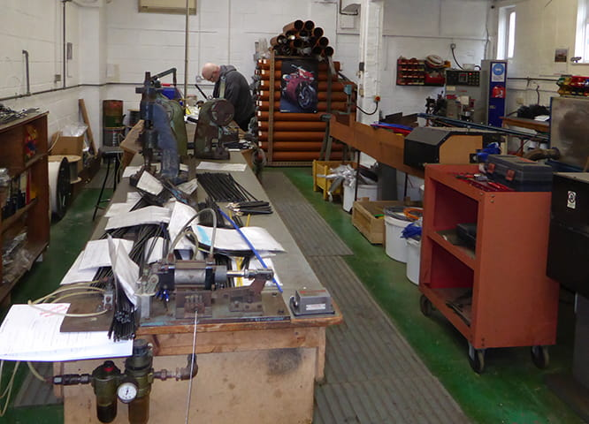Inside the cable workshop at Venhill's HQ in Surrey