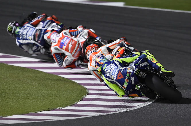 Lorenzo won the first MotoGP race