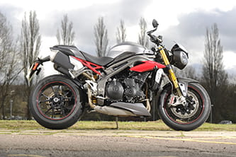 Triumph Speed Triple R, new for 2016
