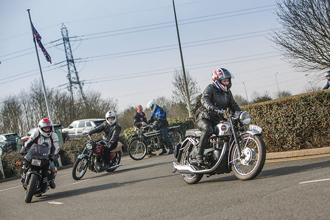 From Velocettes to Nortons, the range of bikes on offer to ride at the National Motorcycle Museum is vast