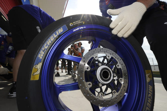 It's been a hard weekend at the office for Michelin