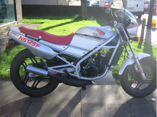 An import NS125F with over 30bhp