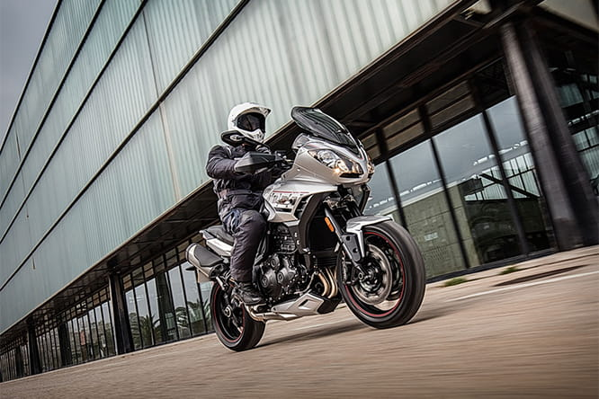 2016's Triumph Tiger Sport with improvements all around