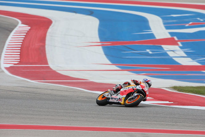 Marquez gave a masterclass in Austin