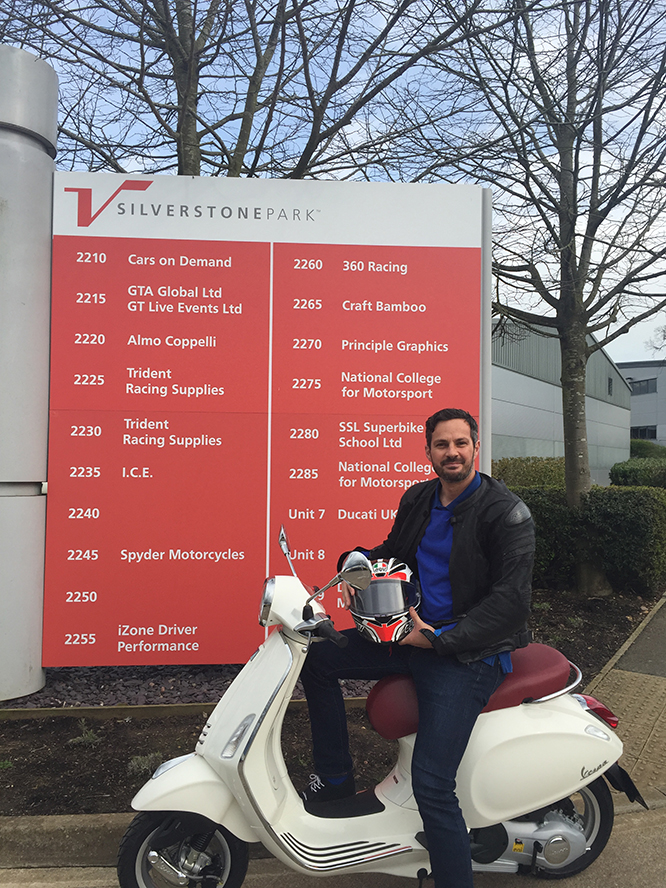Mark Smith-Young of Spyder Motorcycles is setting off next month to do Land's End to John O' Groats and take in the UK's three highest peaks.