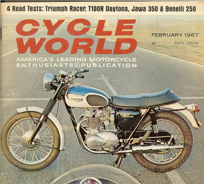 The T100R launched in 1967 was the first to use the Daytona name