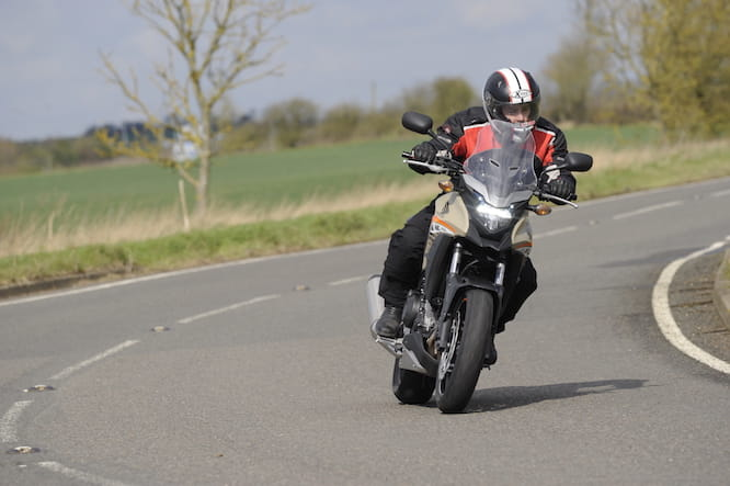 CB500X is a pleasure on the twisties