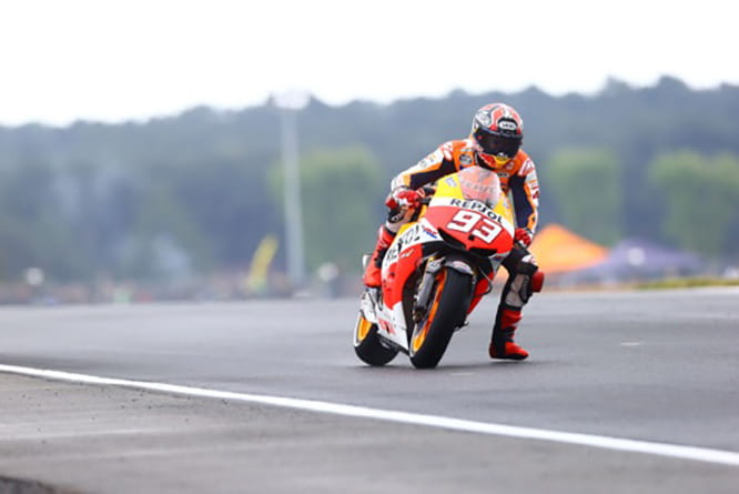 Two-time MotoGP World Champion, Marc Marquez, has been a dangler throughout his GP career