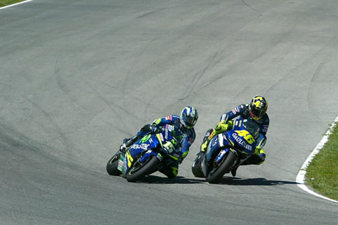 Valentino Rossi has been dangling since 2005