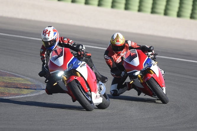 The Rocket and the Catherine Wheel; Ron Haslam guides Bike Social's Marc Potter around Valencia