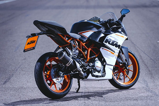 Updated 2016 KTM features a new exhaust