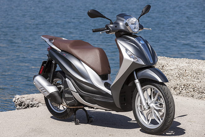Piaggio's Medley 125, a new high-wheeled commuter