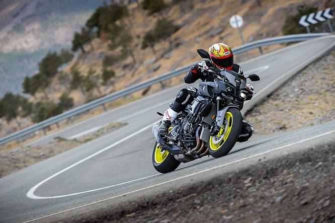 Yamaha's MT-10. Mad-looking isn't it?