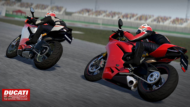 Chose from 39 Ducati models in the new game