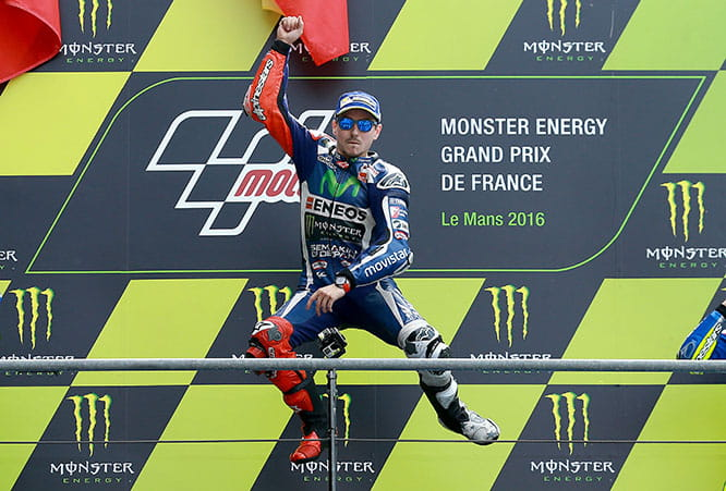 Jorge Lorenzo rode a perfect race