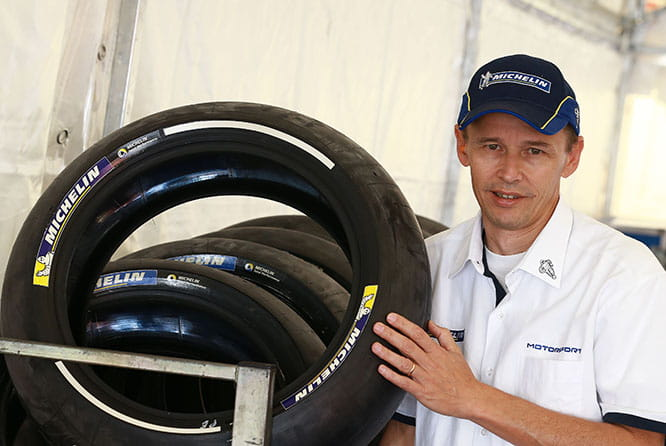 Michelin MotoGP Technical Director Nicolas Goubert