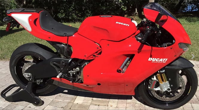Ducati's Desmosedici with its V4 engine is like Rolex bringing out a digital watch