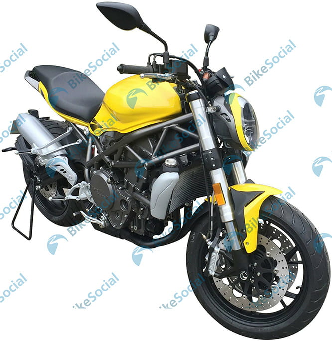 A water-cooled 750cc twin should offer in excess of 100bhp