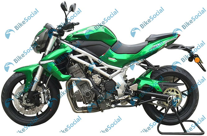 New Benelli triple expected to make at least 157bhp - that's MT-10 territorty