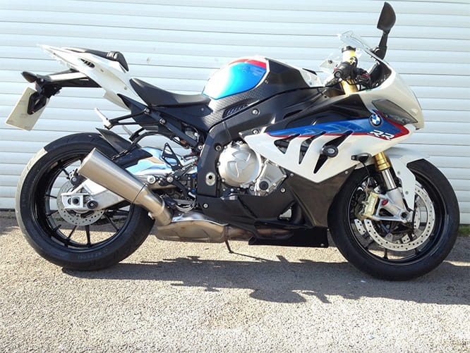A future classic? Second generation S1000RR for sale.
