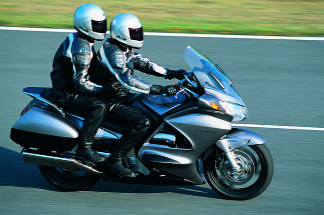 Comfortable seat, decent fairing and a 250-mile tank range all worked in favour of the Honda
