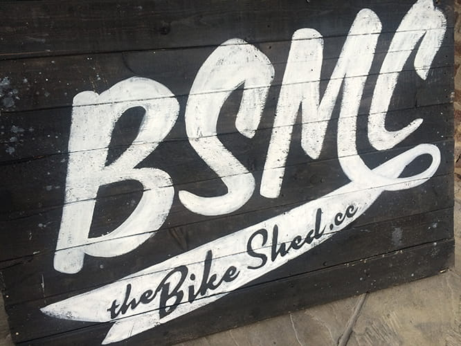The Bike Shed Motorcycle Club annual Show at Tobacco Dock